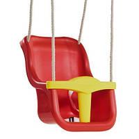 Качели для детей с защитой Kbt Luxe (красные)