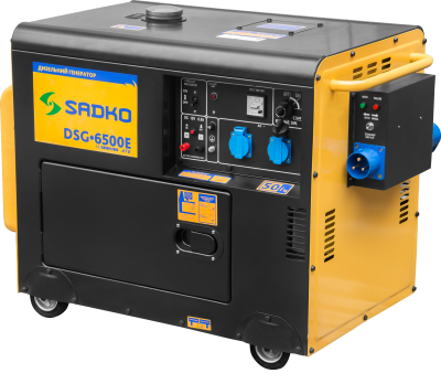 Дизельный генератор Sadko DSG-6500E ATS
