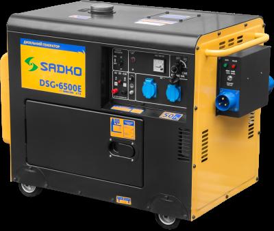 Дизельный генератор Sadko DSG-6500E ATS, фото 2