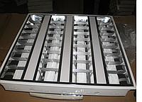 Светильник растровый светодиодный LED 40W встраиваемый с перфорированными вставками