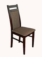 Удобный деревянный стул с мягким сидением и спинкой, производства мебельной фабрики Скиф. Модель ЖУР-11