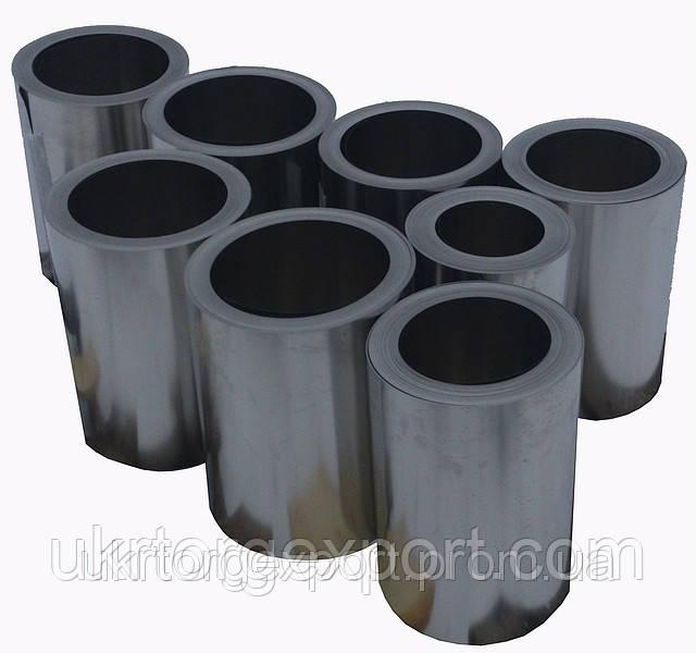 Стрічка нержавіюча сталевий 0,85 мм*400мм матеріал: 1,4310 (AISI 301, 12Х18Н9 ) нагартована (тверда)