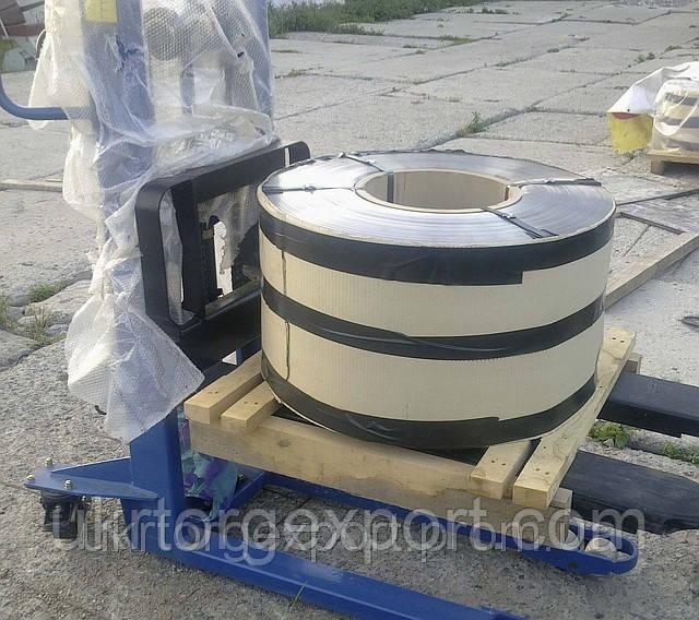Лента нержавеющая стальная 0,63мм*400мм материал: 1,4310 (AISI 301, 12Х18Н9 ) нагартованная (твёрдая)