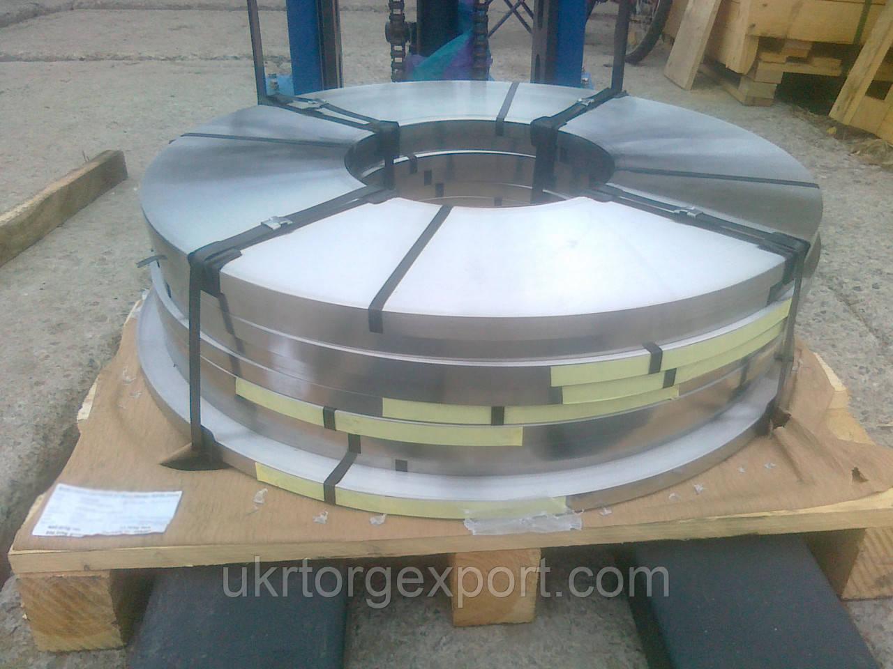 Лента нержавеющая стальная 0,59мм*400мм материал: 1,4310 (AISI 301, 12Х18Н9 ) нагартованная (твёрдая)