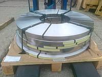Нержавеющая  стальная лента 0,45мм*400мм материал: 1,4310 (AISI 301, 12Х18Н9 ) нагартованная (твёрдая)