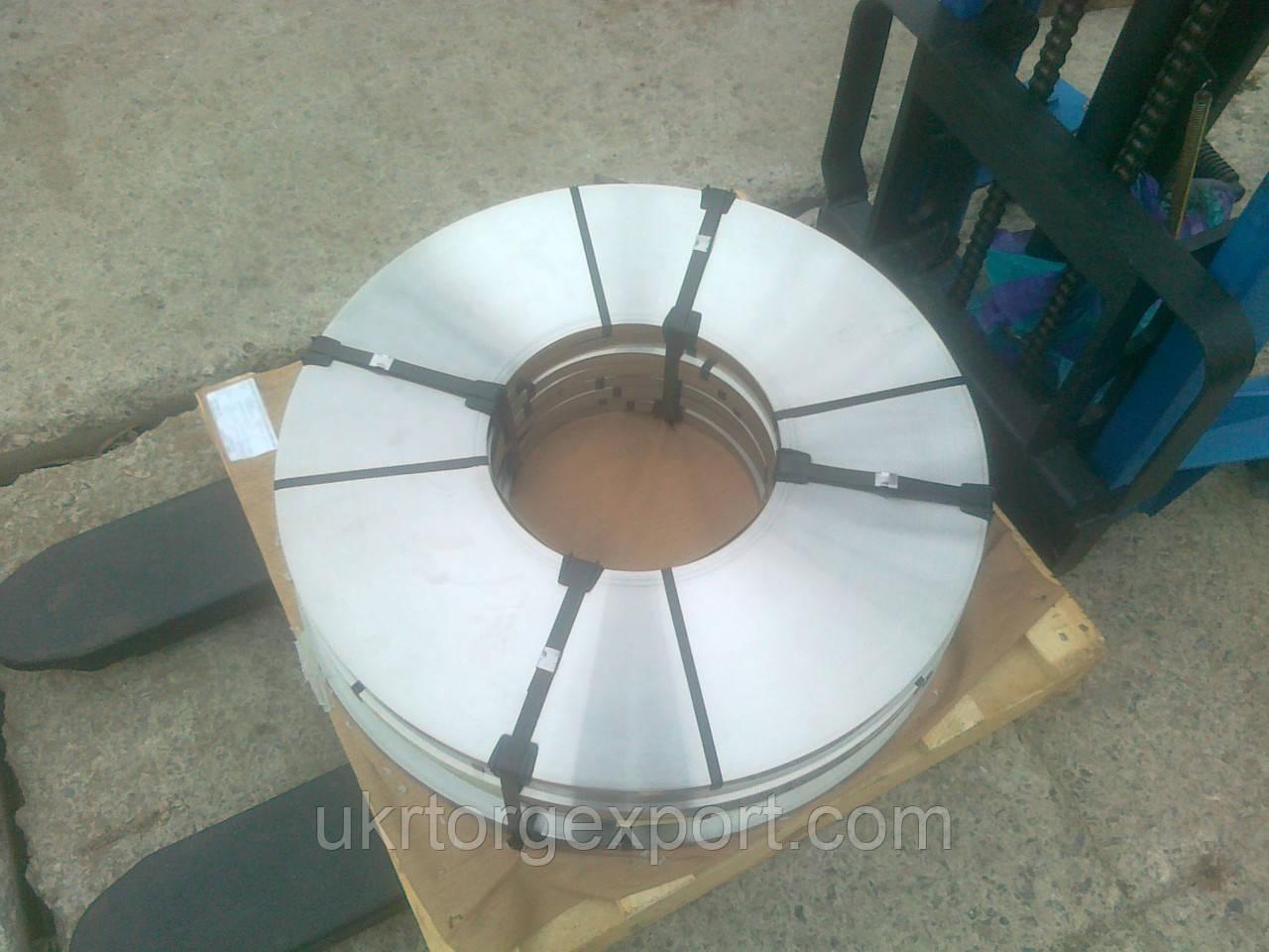 Лента нержавеющая стальная 0,76мм*400мм материал: 1,4310 (AISI 301, 12Х18Н9 ) нагартованная (твёрдая)