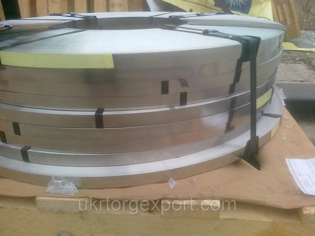 Лента нержавеющая стальная 0,81мм*400мм материал: 1,4310 (AISI 301, 12Х18Н9 ) нагартованная (твёрдая)