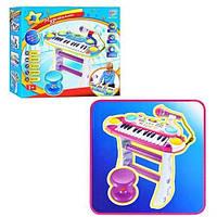 Детское Пианино на подставке, с микрофоном 7235