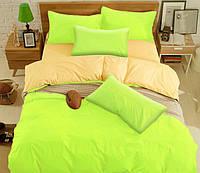 Полуторный комплект постельного белья из микрофибры