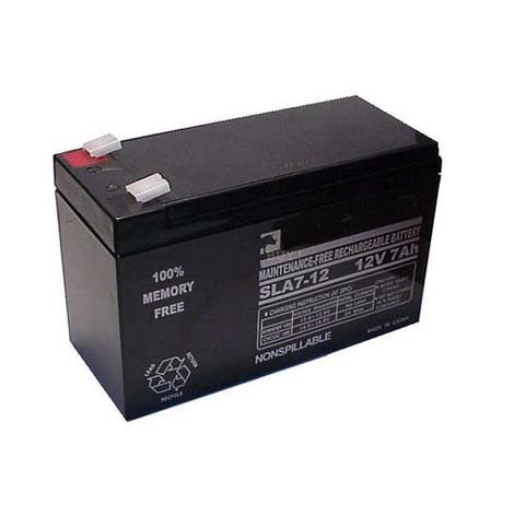 Аккумулятор 12V 7,2 A/ч., фото 2