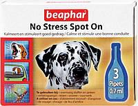 Капли анти стресс для собак , 3 пипетки ( NO STRESS spot on)