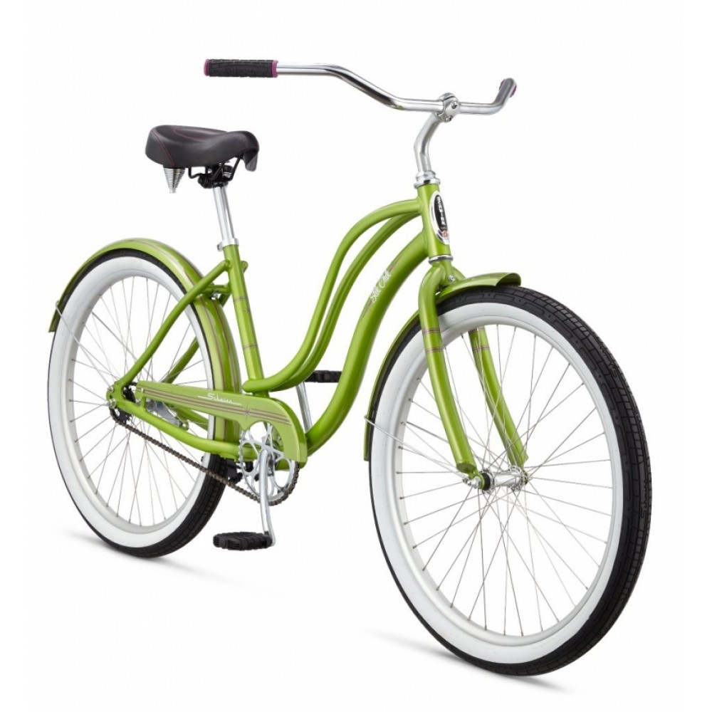 "Велосипед 26"" Schwinn Slik Chik Women 2015 green"
