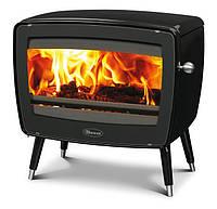 Чугунная печь Dovre Vintage 50/Е10 эмаль черный глянец- 9 кВт