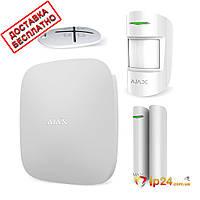 Ajax StarterKit white беспроводная сигнализация для дома