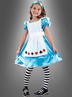 Детское карнавальное платье Алиса в стране чудес