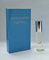 Женские мини духи 7 ml Dolce & Gabbana Light blueWoman