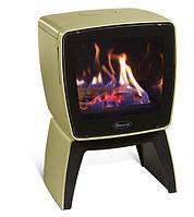 Чугунная печь Dovre Vintage 35 TB/Е9 оливковый зеленая эмаль - 7 кВт