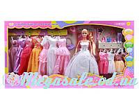 """Кукла с одеждой Defa Lucy """"Принцесса"""": 12 нарядов + аксессуары"""