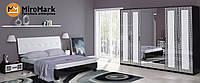 Спальня Віола глянець білий-чорний мат, фото 1