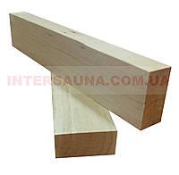 Рейка строганная Липа 2/Сорт (Второй Сорт) 40х20, длина: 1,0 - 3,1