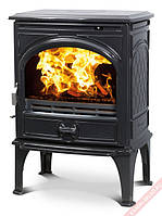 Чугунная мульти печь Dovre 425 GM/E10 E10 глянцевый черный   эмаль- 8 кВт