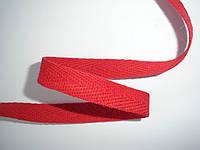Киперная лента красная 10мм, польская