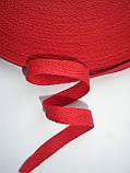 Киперная лента красная 10мм, польская, фото 2