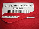 Киперная лента красная 10мм, польская, фото 5
