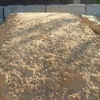 Песок строительный речной с доставкой (Одесса)