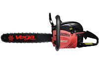 Бензопила Vega VSG-450T (2 шины, 2 цепи) + масло