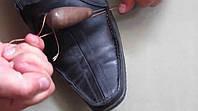 Если разошелся шов верха обуви.