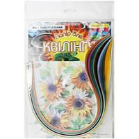 Набор для творчества, полоски для квиллинга НК-2, 12 цветов