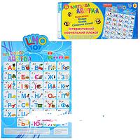 "Интерактивный плакат JT 7027 ""Кмітлива абетка"""