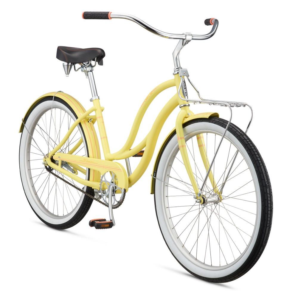 """Велосипед 26"""" Schwinn Slik Chik Women 2017 yellow"""