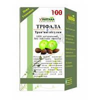 Трифала 100 табл, Vinayaka. Очищает кровь, способствует восстановлению флоры кишечника.