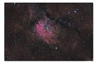 Высококачественный фотопринт Туманность NGC 6820 STAR12