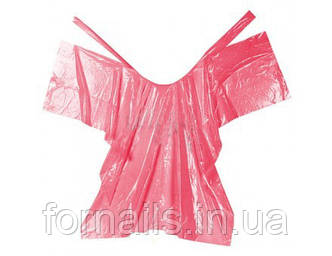Пеньюар одноразовый розовый 50 шт, Doily