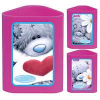 Стакан канцелярский«Мишка Тедди 1»470339, фиолетовый