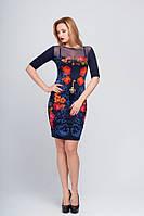 Платье женское с цветами Берген