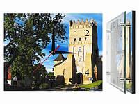 Часы для дома на стену Луцкий Замок