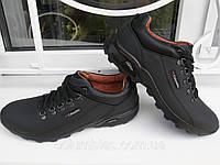 Columbia-кожанные мужские кроссовки