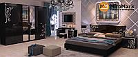 Спальня Богема глянець чорний, фото 1