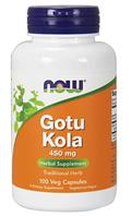 Готу Кола, Now Foods, Gotu Kola 450 mg, 100 vcaps