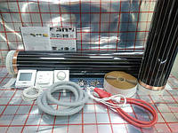 Пленочный теплый пол 1,6х2,75м Hi Heat (Ю.Корея) комплект (терморегулятор в подарок)
