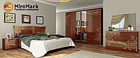 Спальня Богема вишня-бюзум