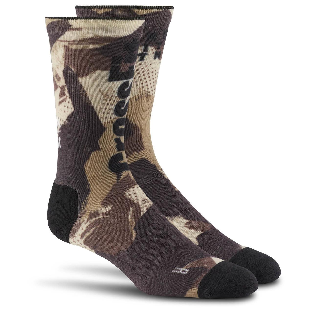 Мужские носки Reebok Crossfit Men Camo Crew (Артикул: BP9154)