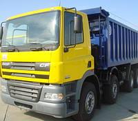 Грузоперевозки самосвалами DAF до 40 тонн (21 куб. м. ), услуги самосвалов, аренда самосвала Одесса