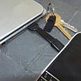 Практичный брелок-переходник USB-микро TRUE UTILITY TU290B черный, фото 2