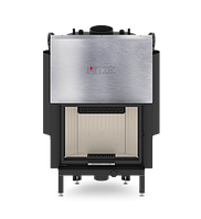 Каминная топка с водяным контуром Hitze Albero 16 KW Aquasystem (гильотина) -16 кВт
