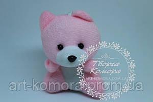 """Мягкая игрушка для букетов """"Мишка розовый"""""""